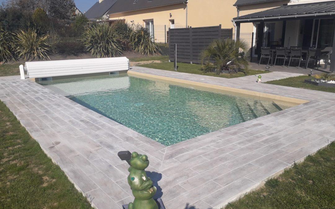 Réalisation d'une piscine extérieure