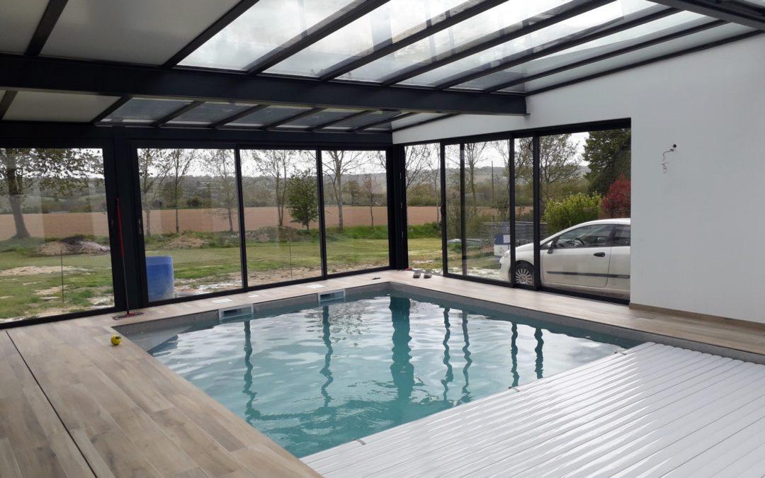 Réalisation d'une piscine intérieure
